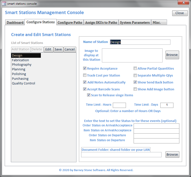 Smart Stations Console Stations